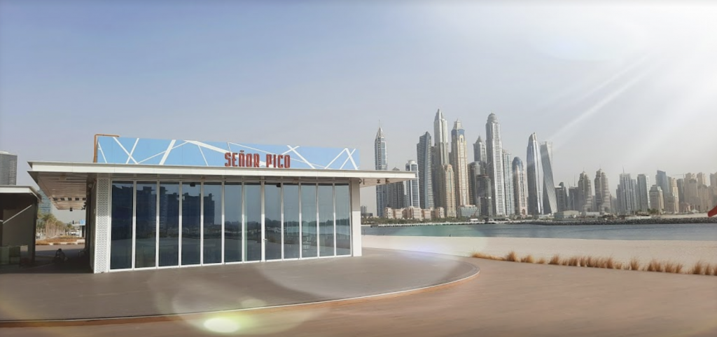 The Front of Senor Pico Dubai